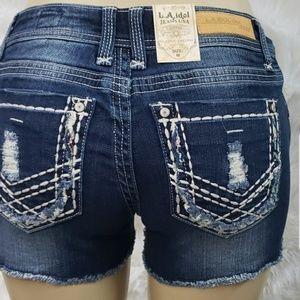 Brand new L.A. idol Jean shorts